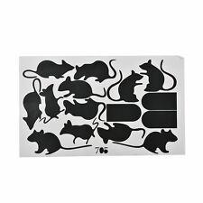 1Pcs Mouse Hole Wall Stickers Creative Rat Mice Hole Cartoon Home Wall Decals HU