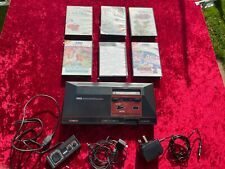 Original Sega Master System with Games - Tested and Working