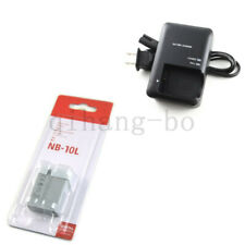 NB-10L NB10L Battery for Canon PowerShot SX40 HS SX50HS  IS + CB-2LCE Charger