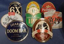 Group of 8 Beer Pump Badges Doombar Marston's Hook Norton Wadworth Thwaites etc