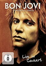 BON JOVI Live in Concert - The Broadcast Archive DVD NEW .cp