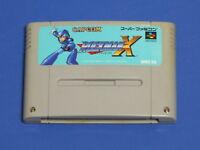 Rockman X Megaman Nintendo Super Famicom SNES SFC