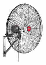 Wall Mount Fan 30 Inch Oscillating Indoor Garage Shop Cooling Patio Deck Drying