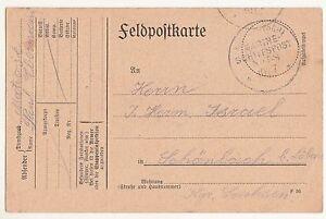 Feldpostkarte 1915 Kaiserlich Deutsche Marine Schiffspost  No 58 Stempel !(A1582