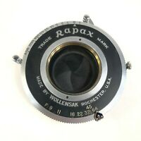 Rapax Wollensak Anastigmat Shutter Camera Lens Vintage
