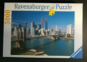 Ravensburger New York City 5000 Pieces Twin Towers World Trade Center New Sealed