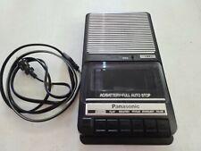 Panasonic Slim Line No. RQ-2102 Tape Cassette Recorder NICE