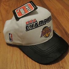 Los Angeles Lakers NBA Champions 2000 PUMA Vintage Strapback Hat Cap NEW