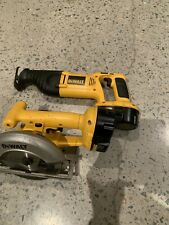 Dewalt Cordless Tools  Circular And Recip Used With Batteries
