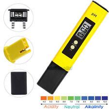 Protable Digital LCD PH Meter Pen Tester for Hydroponics Aquarium Pool Water UK