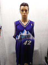 Rare Tom Gugliotta Utah Jazz Authentic Jersey 56 Purple NBA