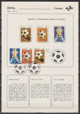 Brazil & Argentina, World Cup 1978, special sheet + FDC, lot # 75