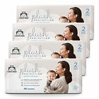 Brand - Mama Bear Plush Protection Size 2 Diapers Ultra-soft Hypoallergenic D...