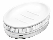 Popular Bath Radiance White Collection - Bathroom Sink Soap Dish