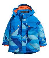 H&M Winterjacke / Wattierte Funktionsjacke Gr. 92 -128 *2 Farben* blau/rot*NEU!*