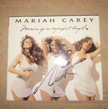 MARIAH CAREY MEMOIRS OF IMPERFECT ANGEL SIGNED CD DIGIPACK NEW RARE CAUTION
