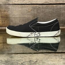 $525 Men's Maison Martin Margiela Tabi Slip-On Sneakers in Black sz EU 43 w/box