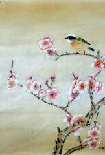Framed Print - Traditional Japanese Artwork with Bird (Asian Oriental Picture)
