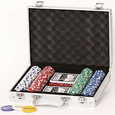 Poker Set 200er 11.5 Gramm Chips Pokerset Koffer Starkid 68157 # 980004