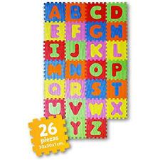 Puzzle Manta alfombra rompecabezas goma espuma EVA abecedario letras numeros