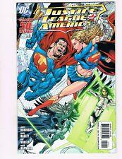 JUSTICE LEAGUE OF AMERICA #50 (2010) VAN SCIVER SUPERMAN/SUPERGIRL VARIANT COVER