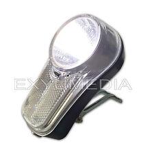 StVZO - LED Fahrradlicht und Reflektor, Fahrradlampe vorne Fahrrad Scheinwerfer