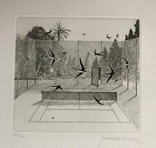 xavier serra de rivera  Original etching hand signed and numbered