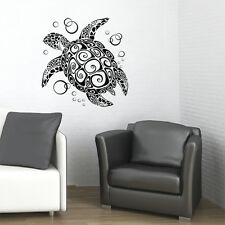 SEA TURTLE VINYL WALL DECAL STICKER ART-HOME DECOR -NEW