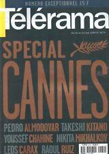 telerama n°2574 special cannes caetano veloso david cronenberg gilles jacob 1999