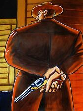 CLINT EASTWOOD CIGAR PRINT poster unforgiven movie western colt army revolver