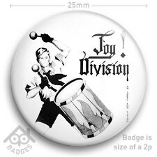"Joy Division AN IDEAL FOR LIVING - Ian Curtis Factory Records Badge 25mm 1"" NEW"