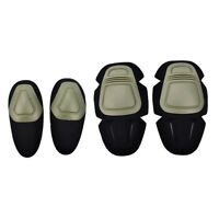 Paintball Airsoft Combat G3 Protective Tactical Knee Elbow Protector Pads Set S&
