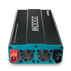 Renogy 2000W Pure Sine Wave Inverter with UPS Function 12V DC 230V 50HZ AC