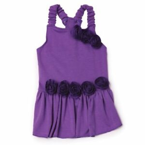 East Side Collection Polyester Spring Fling Dog Dress, Small, 12-Inch, Violet