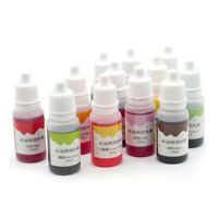 10ml Handmade Soap Dye Pigments Color Liquid Water Based cosmetic Bombs Salts