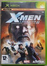 jeu xbox x-men legends 2 l'avenement d'apocalypse VERSION  PAL FRANÇAISE.
