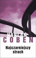 Najczarniejszy strach, Harlan Coben,  polish book, polska ksiazka