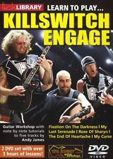 Lick library apprendre à jouer killswitch engage adam d metal rock tutor guitare dvd