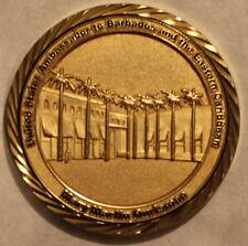 Mary Martin Ourisman Ambassador Barbados & Eastern Carribean Challenge Coin