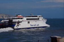 491097 Sea Cat English Channel A4 Photo Print
