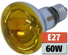 E27 60W GELB -  HQ Reflektorlampe Glühlampe Glühbirne