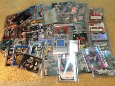 Football 5-12 Card Hot Pack $25 in Book Value! Autographs, Jerseys, SPs, #'d, RC