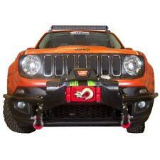 Daystar KJ50001BK Winch Bumper Guards for Jeep Renegade