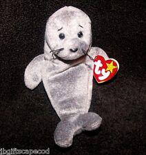 'Slippery' The Seal Beanie Baby - 1998/1999 - Mwmt - Rare - Retired - Adorable!