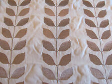 """Gorgeous Cowtan and Tout / Larsen Fabric """"SPRINGFIELD"""" in Antique Gold 1++ Yards"""