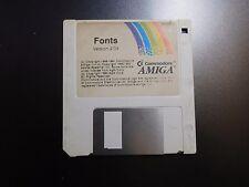 Commodore AMIGA 500 600 1000 2000: FONTS 2.04