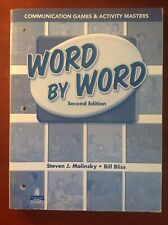 Word by Word Communication Games & Activity Masters, Paperback by Molinsky, S...