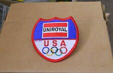 Vintage 1984 L.A. Summer Olympic Games UNIROYAL Corporation patch NOS