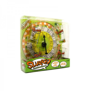 Slurred. The A to Z Drinking Game. Spinner Board & Four Shot Glasses Express!