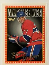 1995-96 Topps Marquee Men #21 Pierre Turgeon Montreal Canadiens Hockey Card